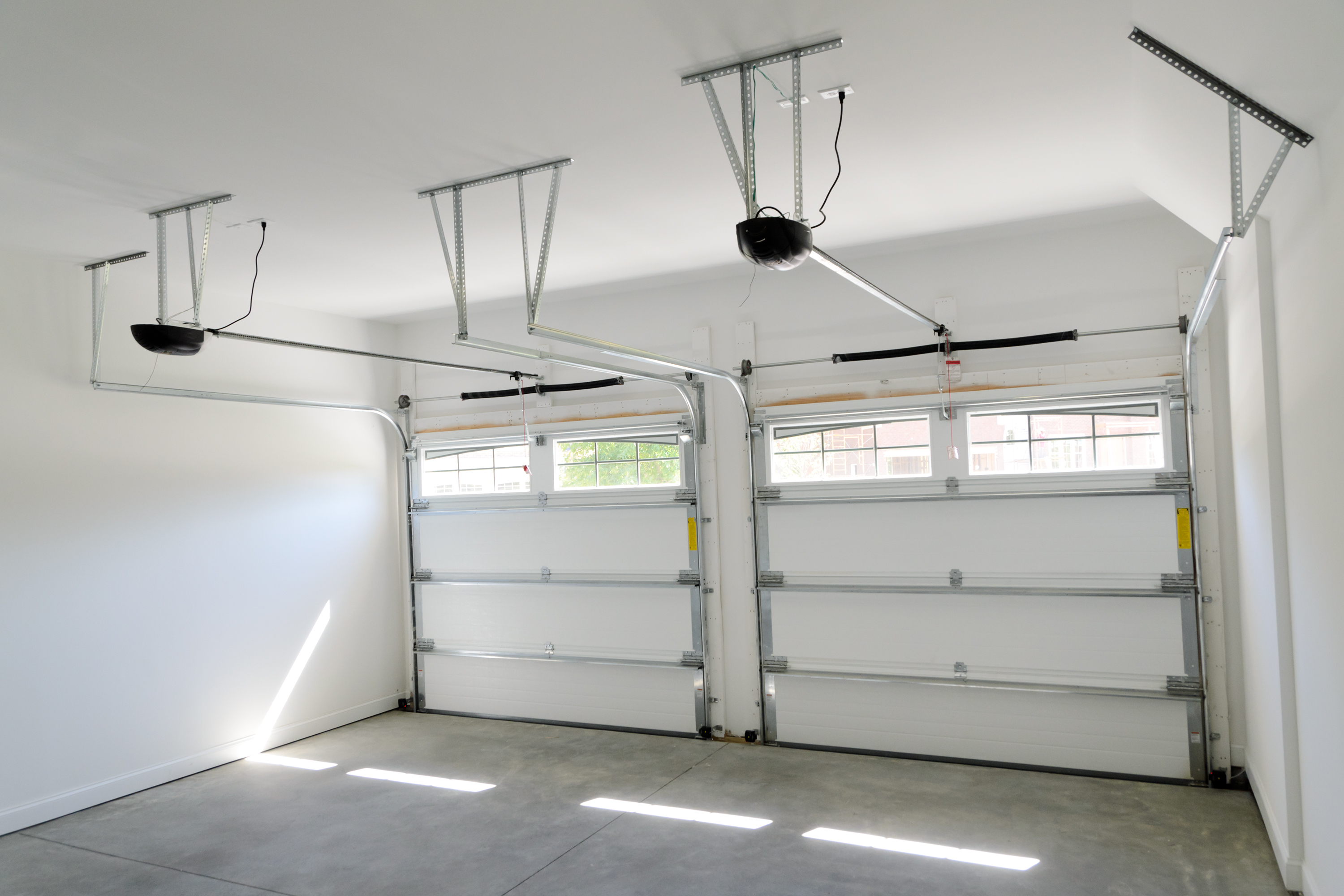 on a overhead garage repair company budget door teds